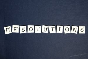 New Year's resolutions for dental health.